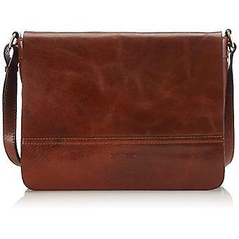 Gerry Weber Lugano Flap Bag M Women Brown shoulder bag (cognac 703) 35x24x8 cm (B x H x T)