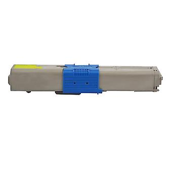 Oki Non Genuine Premium Compatible Yellow Toner Cartridge