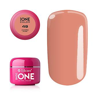 Base one-Color-Amore pink 5g UV gel