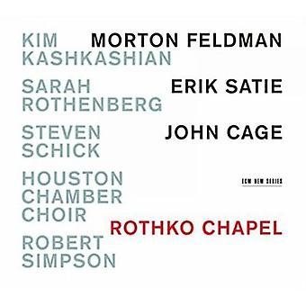 Kashkashian/Rothenbe - Rothko Chapel-Mort [CD] USA import