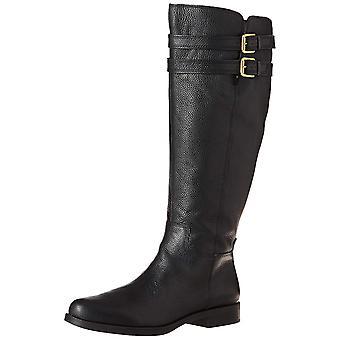 Franco Sarto Womens Christoff stof gesloten teen mid-kalf mode laarzen