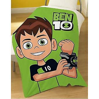 Ben 10 Hero Fleece Blanket