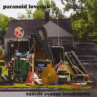 Paranoid Lovesick - Smoking Avenue Zusammenbruch [CD] USA importieren