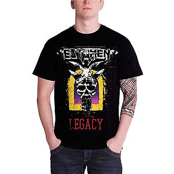 Testament T Shirt The Legacy Band Logo Official Mens New Black