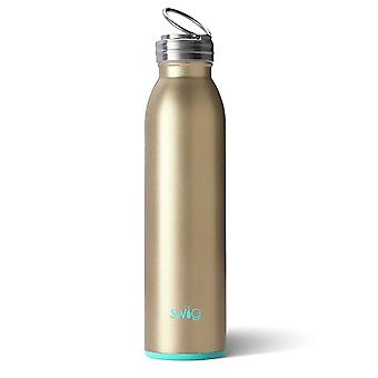 Swig Life Reusable Insulated Stainless Steel Silicone Base Water Bottle -Various