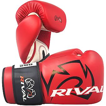 Rival Boxing RB2 2.0 Super Hook and Loop Bag Gloves - Red