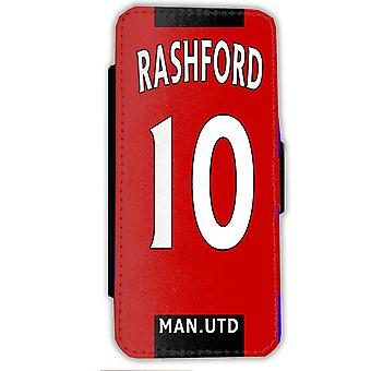 iPhone 7/8 Rashford case-Manchester UTD mobile Wallet