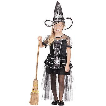 Little Spidy witch dress witch costume for kids precious