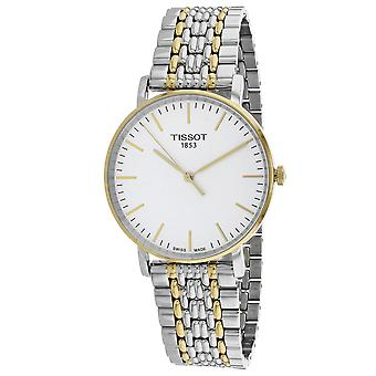 Tissot Men's Everytime White Dial Watch - T1094102203100