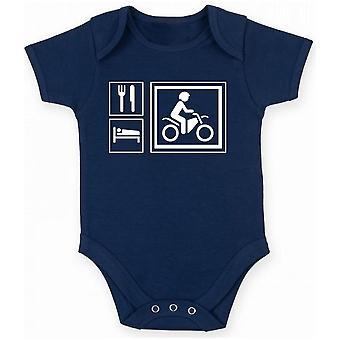 Body newborn navy blue fun1333 eat sleep play ride