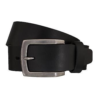 Lloyd Cinturón Masculino Cinturón de Cuero Negro 5435