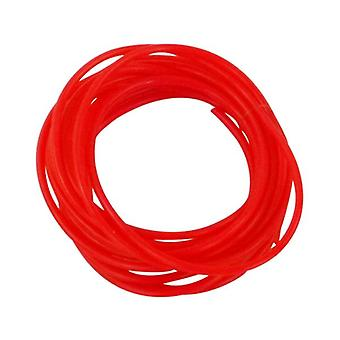 Swimerz 1Mm Tube 400Cm Red Bulk Roll