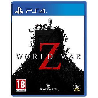 World War Z PS4 peli