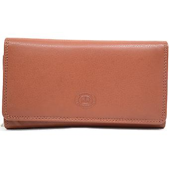 Dames / Womens Soft Leather grote Matinee Clutch portemonnee
