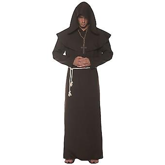 Monk Priest Friar Tuck Robin Hood Medieval Religious Adult Mens Costume OS