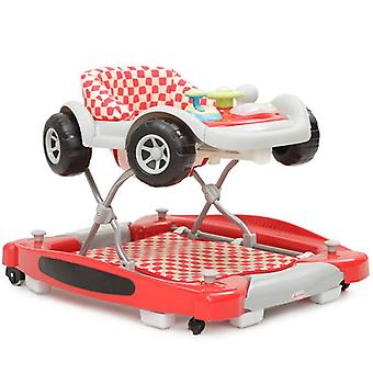 Running aid and baby rocker Car 2 in 1, game center car, music, adjustable