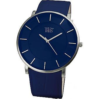 Watch Davis 0915 - leather blue Mixed Mode