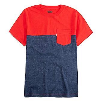 ليفي & أبوس؛s بنين & أبوس؛ كبير واحد جيب تي شيرت، ليتشي / الأزرق، S