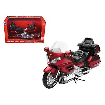 2010 Honda Gold Wing Burgundy Motorcycle Model 1/12 by New Ray