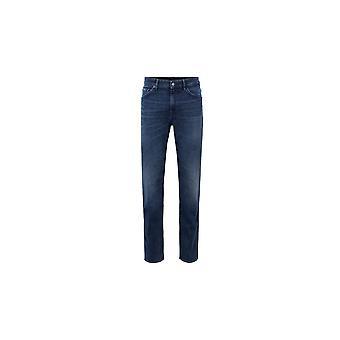 Hugo Boss Taber Tapered Slim Fit Dark Blue Jeans