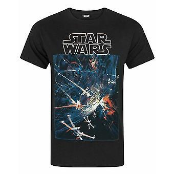 מלחמת הכוכבים גברים כוכב מוות ' חולצת טי