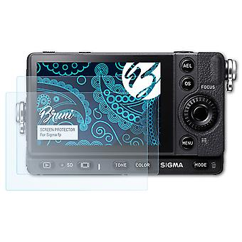 Bruni 2x Screen Protector compatible with Sigma fp Protective Film