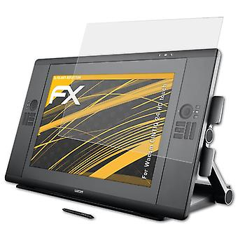 atFoliX Glass Protector compatible with Wacom CINTIQ 24 HD touch 9H Hybrid-Glass