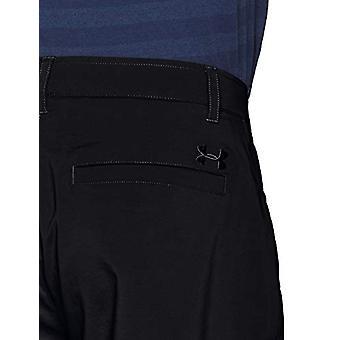 Under Armour Men's Tech Golf Pants,Black (001)/Black, 40/30