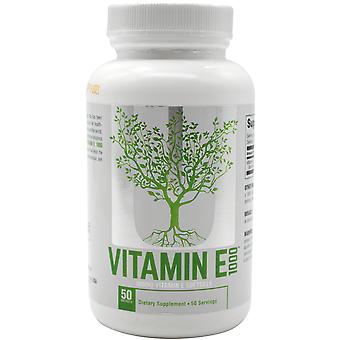 Universal Nutrition Vitamin E 1000 - 50 Softgels - Supports immune systems