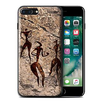 STUFF4 Case/Cover für das Apple iPhone 7 Plus/Tanz/Musik/Höhlenmalerei