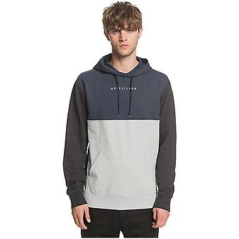 Quiksilver Under Shelter Hood Update Pullover Hoody i Blue Nights
