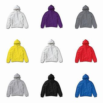 SG Ladies/Womens Plain Hooded Sweatshirt Top / Hoodie