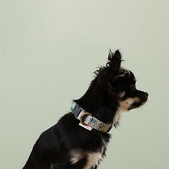 Cath Kidston Tela impreso collar de perro