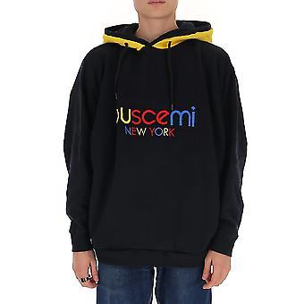 Buscemi Bmw19210089 Men's Black Cotton Sweatshirt