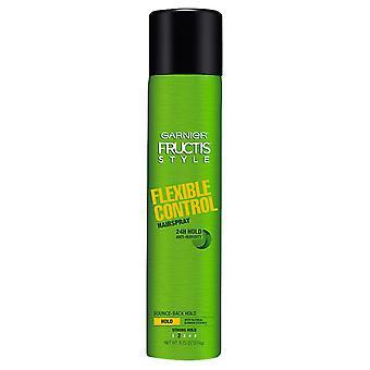 Garnier fructis style flexible control hairspray, strong hold, 8.25 oz