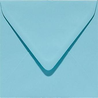 Papicolor Envelope Square 14cm azure-blue 105gr 6 pc 303904- 140x140 mm