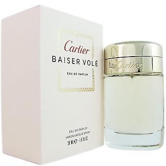Baiser vole voor dames door cartier 1.6 oz eau de parfum spray