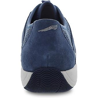 Dansko Womens Holland Suede Low Top Lace Up Fashion Sneakers