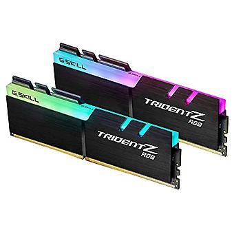 G.SKILL 16 GB (2 x 8 GB) Trident Z RGB DDR4-3600 CL18 (18-22-22-42) DIMM RAM Kit