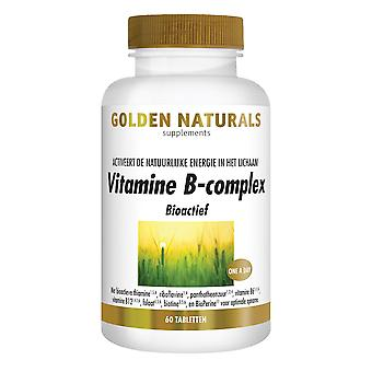Golden Naturals Vitamin B complex (60 vegan tablets)