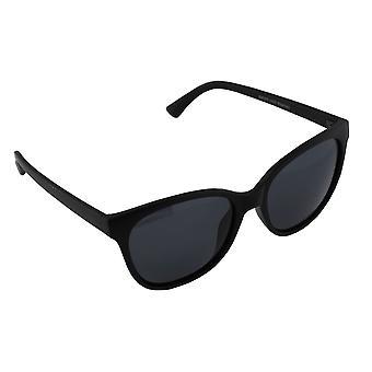 Sunglasses Ladies Polaroid Wayfarer - Matt Black with free brillenkokerS357_5