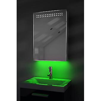 Ambient Mirror Cabinet With Sensor & Internal Shaver Socket k263W
