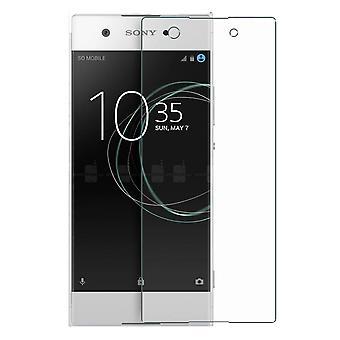Sony Xperia XA1 réservoir protection protection verre blindé film real 9 H verre verre trempé