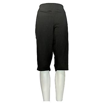 Women with Control Women's Petite Pants Wicked Pedal Pusher Black A352759