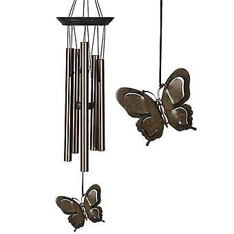 Butterfly Wind CHIME suuri pronssi Woodstock