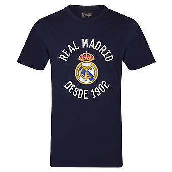 Real Madryt Official Football Gift Męskie T-Shirt