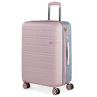 JASLEN San Marino Damestrolley M, 4 wielen, 44 cm, 89 L, roze