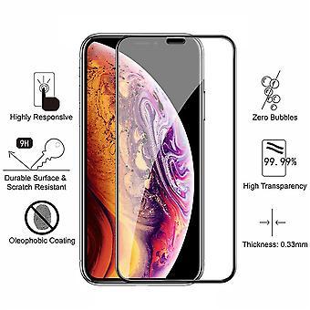 2 Pack Iphone X/xs - Gehärtetes Glas Bildschirmschutz