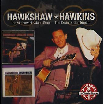 Hawkshaw Hawkins - Country Gentleman/Hawkshaw Hawkins Sings [CD] USA import
