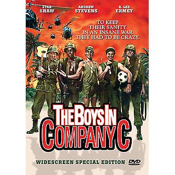 The Boys in Company C [DVD] USA import